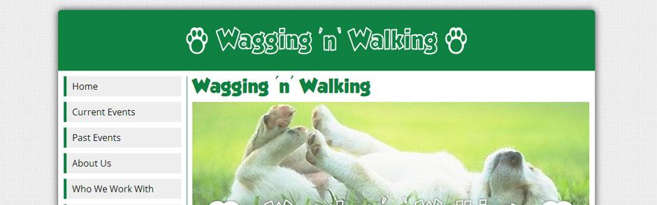 Wagging 'N' Walking
